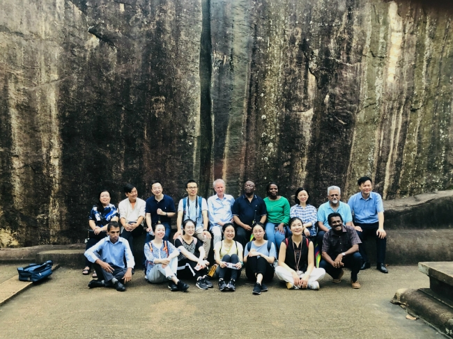 Group photo at Sigiriya