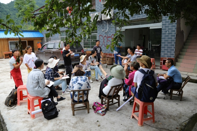 Interviews with Villagers in Wulingyuan