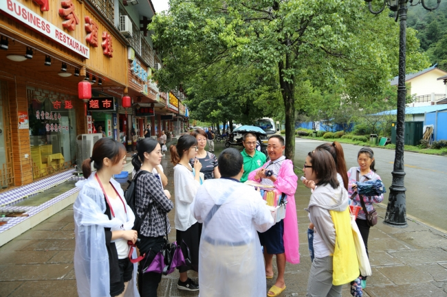 Interview with Wulingyuan Vendors